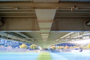 under the bridge by DelMuro