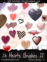 GIMP Hearts II Brushes by Project-GimpBC
