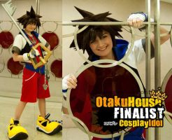 Sora - Kingdom Hearts by xHee-Heex