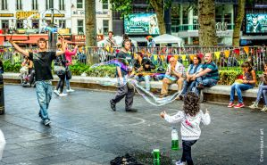Bubble Blowing Person 061429 by meriwani