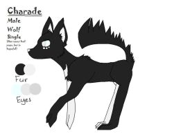 Charade ref sheet by ninelivestwice