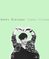 Happy Birthday Zhang Yixing by SeoulLatte