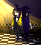(FNAF/Undertale Crossover) Two Sides of Me.. by Hexblaster