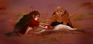 's not a job for a fine hobbit such as yourself, by murr-ma-ing