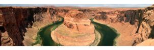Horseshoe Bend by Nickeee