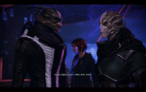 ME3 CDLC - Garrus, The Smooth Talker by chicksaw2002