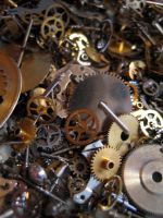 Gears cogs clockwork No.6 by redrockstock