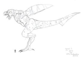Concept 2 for Kaiju 'Ray' by TheRepublicanMartian
