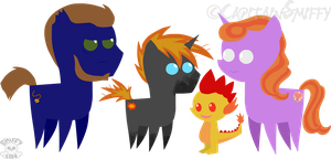 MLP: My Little Sparkies by CapitainSmiffy