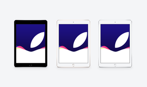 Apple September 9th Event iPad Air Wallpaper by JasonZigrino