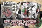 SideQuests #1 and Snapshots Sketches #2 Available by PawFeather