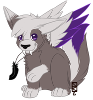 Cupcake-Wingz Chibi Commission by NocKynthesis