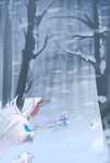 Winter Hunt by Underpable