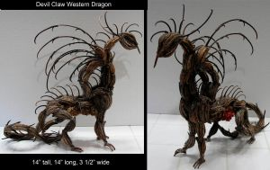 Devil Claw Western Dragon by ART-fromthe-HEART