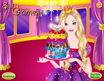 Barbie Glittery Cupcake - Cooking Games by kute89