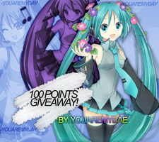 1OO POINTS GIVEAWAY! | WINNERS (Closed) by YouAreMyBae