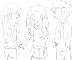 CORPSE PARTY (OC's) [WIP] by 0ColorPaint0