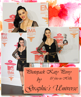 Photopack #16 Katy Perry EMA 2013 by GraphicsUniverse