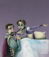Rapunzel's Parents, the King and Queen of Corona by SpyroShurtagul