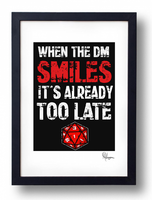 When the Dungeon Master smiles.... by Arnixia