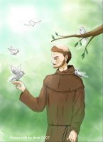 St.Francis of Assisi by darksen