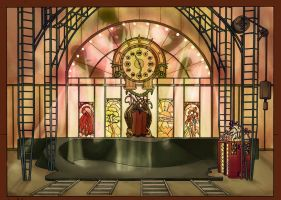 Circus stage-warm by Nim41