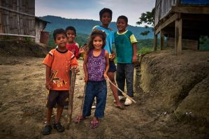 Kids in Ecuador by ChristianHein
