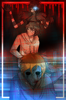 Laughing Jack,Jeff and Eyeless Jack by DJ-BOmBE