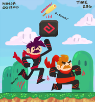 Super Ninja Bros. by Raifiel