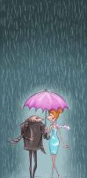 Just a rainy day by winkelchen