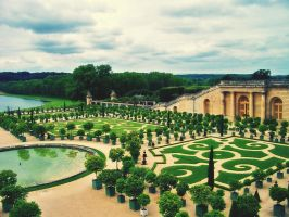 Jardins de Versailles by green-daydreamer