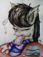 Tavi's Morning Crave by Cre8iveWing