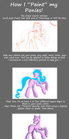 How I Paint my Ponies (Rough Version) by DracosDerpyHoof