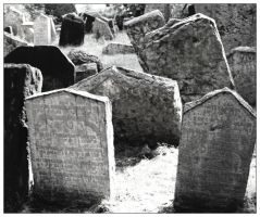 The Old Jewish Cemetery by Myana