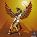 Isis - Goddess of Magic by TheSorceressRaven