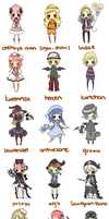 tinierme chibis by cassisxx