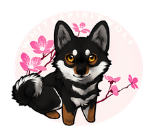 .: Little Shibe :. by WhiteSpiritWolf