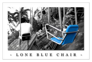 Lone Blue Chair by paolo91