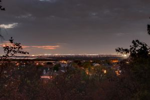 Evening in the Suburbs by Geistson