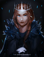 queen in the north by pasteltea