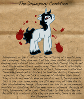 Curious Conditions: The Condition of the Dhampony by The-Clockwork-Crow