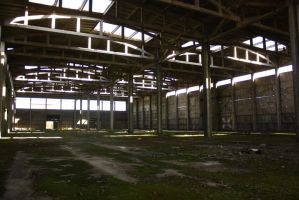Old warehouse by CULAter-stock