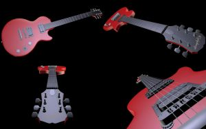 Epiphone Guitar by Krovash