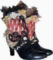 Orient Art Spats by MAIDESTREASURIES