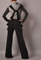 Black Wide Leg Jumpsuit 3 by yystudio