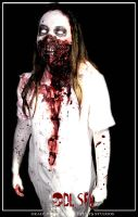 make up morth mier  london terror zone by LAUTREAMONTS