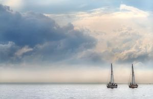 ..  TWO _ SAILS  .. by KUNDAL