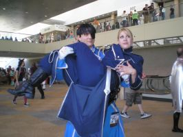 Otakon 2007: Roy + Riza by Polaroid-