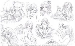 Sketchpage -Elerus 2-3 by Saimain