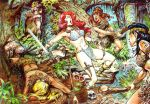 Red Sonja KOed by Amazons by gytalf2000